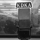 KDKA Press Box Microphone
